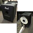 Portable kick drum and cajon case